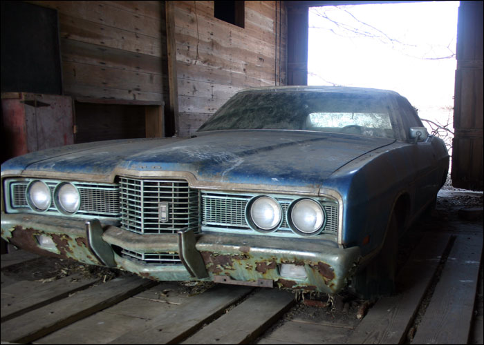 1973 Ford LTD Convertible