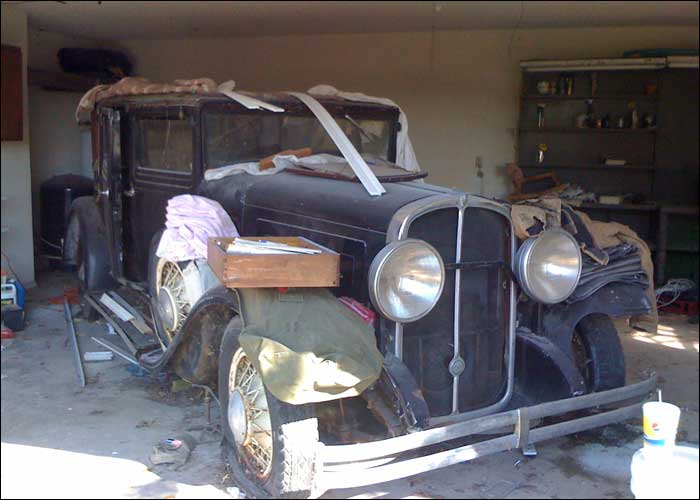 1932 Franklin Saloon