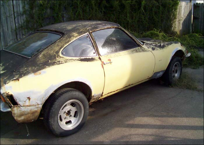 Old House Opel GT