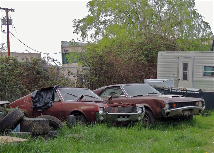 Rotting AMC Iron