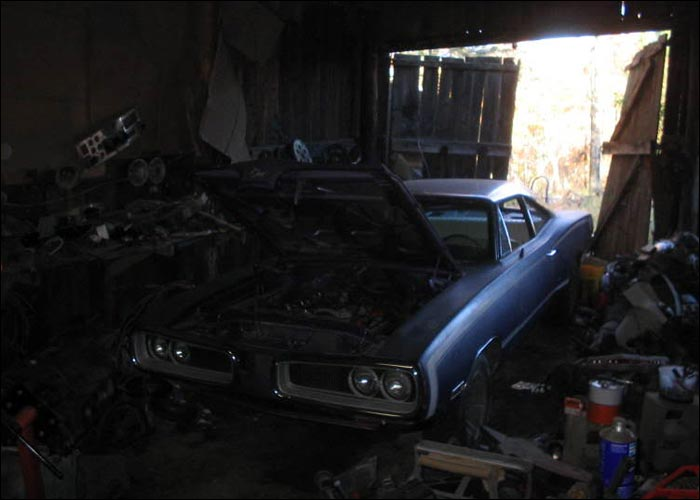 Mopar Barn Finds