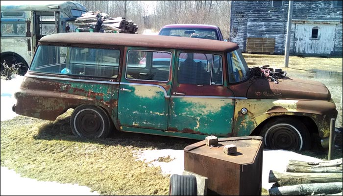 1961 International Harvester Travelall 100